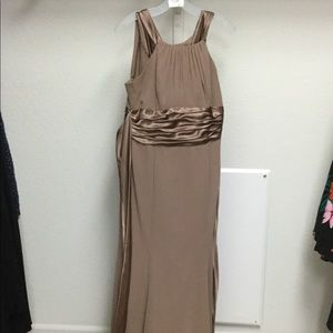 David's Bridal Gown In Latte